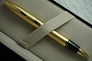 Made in Germany Sheaffer Legacy Heritage Rollerball Pen Brushed 22KT Gold and Featuring 22KT Gold APPOINTMENTS