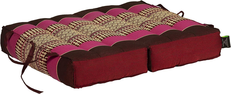 Kapok Dreams Foldable Pillow Seat and 5% OFF Cush Meditation Chairpad Topics on TV