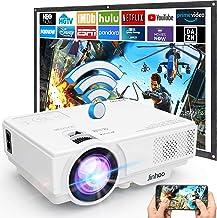 Anuncio patrocinado: Proyector WiFi 6000 Lúmenes Soporta 1080P Full HD, Proyector WiFi Portátil, Proyector Mini Compatible...