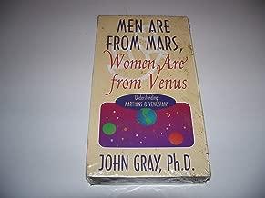 Men Are From Mars, Women Are From Venus, Understanding Martian & Venusian By John Gray