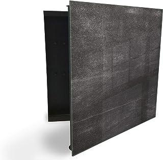 37216052 Boîte à clés avec façade en verre magnétique 30 x 30 cm