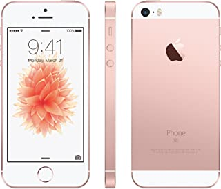 Apple iPhone SE with FaceTime - 64GB, 4G LTE, Rose Gold, 4 Inch