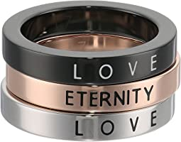 Calvin Klein - Hook - Love & Eternity Set Of 3 Rings