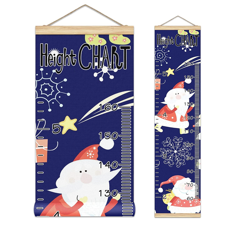 Growth Chart Kid's Bargain Height H Direct stock discount Santa Banner Cute