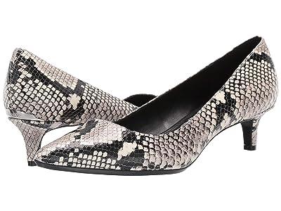 Calvin Klein Gabrianna Pump (Natural Two-Tone Snake) Women