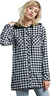 Women's Ruffing It Long Sleeve Fleece Tunic