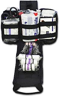 Lightning X Spread Eagle Complete Tactical Gunshot & Trauma IFAK Kit w/Laser Cut MOLLE