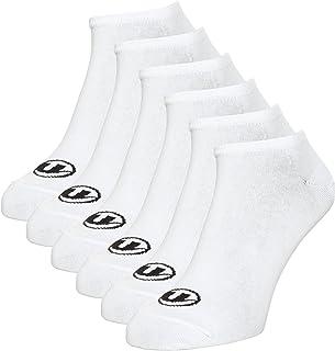 Sneaker Calcetines Bajos, Paquete de 6 Unidades, Unisex Adulto