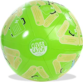 """American Educational SR-1440 Vinyl Clever Catch CPR First Aid Ball, 24"""" Diameter"""