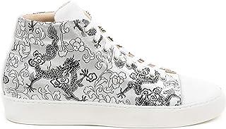 A Long Sneakers Silver & Black