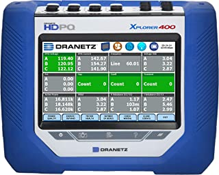 Dranetz HDPQ-X4AMFLEX3PKG HDPQ Xplorer-400 3/30/300A Flex Package