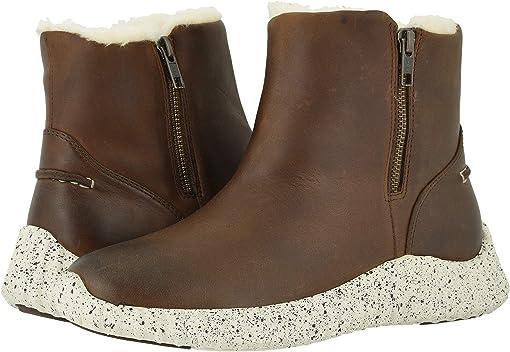 Dark Brown Waterproof Leather