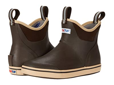 XTRATUF Ankle Deck Boot (Brown) Women