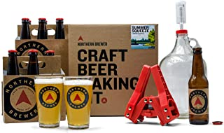 Northern Brewer - All Inclusive Gift Set 1 Gallon Homebrewing Starter Kit with Recipe (Limited Edition Summer Squeeze Shandy)