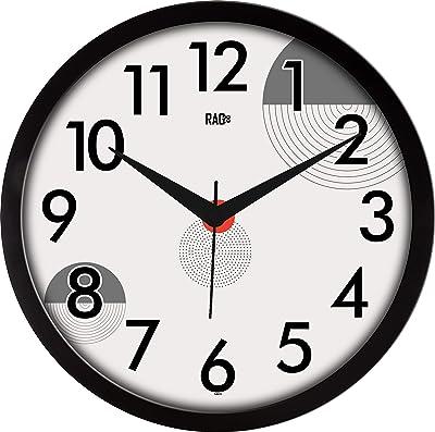 RAG28 Designer Wall Clock (Size: 11.75 Inches, 14673)