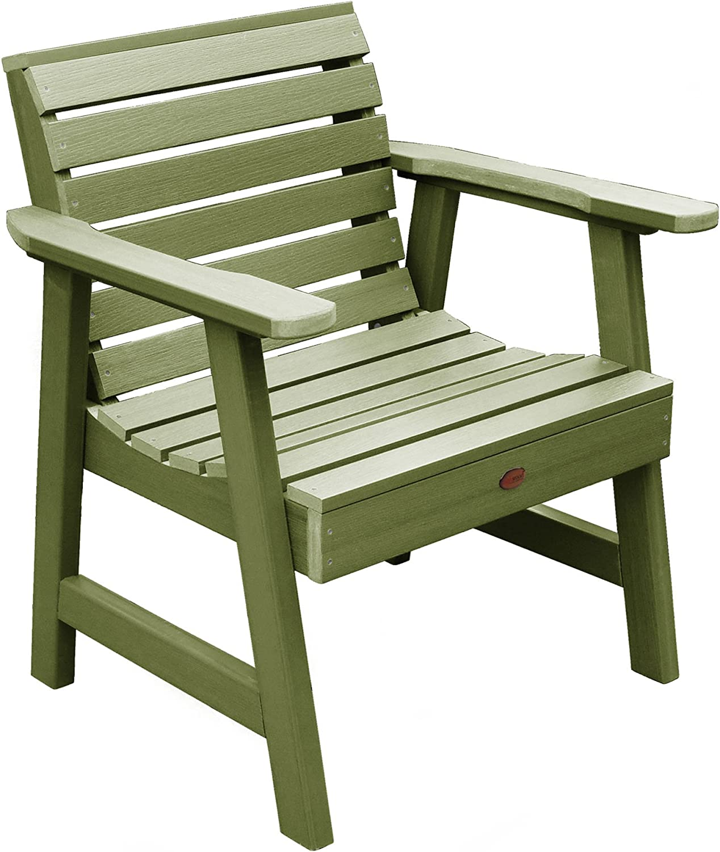 highwood AD-CHGW1-SGE Weatherly Garden Chair, Dried Sage