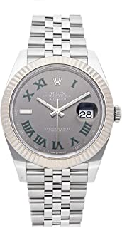 Rolex Datejust Mechanical (Automatic) Slate Gray Dial Mens Watch 126334 (Certified Pre-Owned)