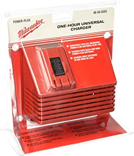 Milwaukee 48-59-0255 Universal 12-Volt to 18-Volt NiCad Slide Style 1 Hour Battery Charger