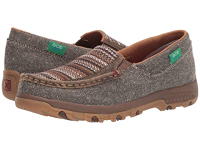 Twisted X WXC0006 Slip-On Driving Moc with CellStretch(r) (Bomber/Multi) Women