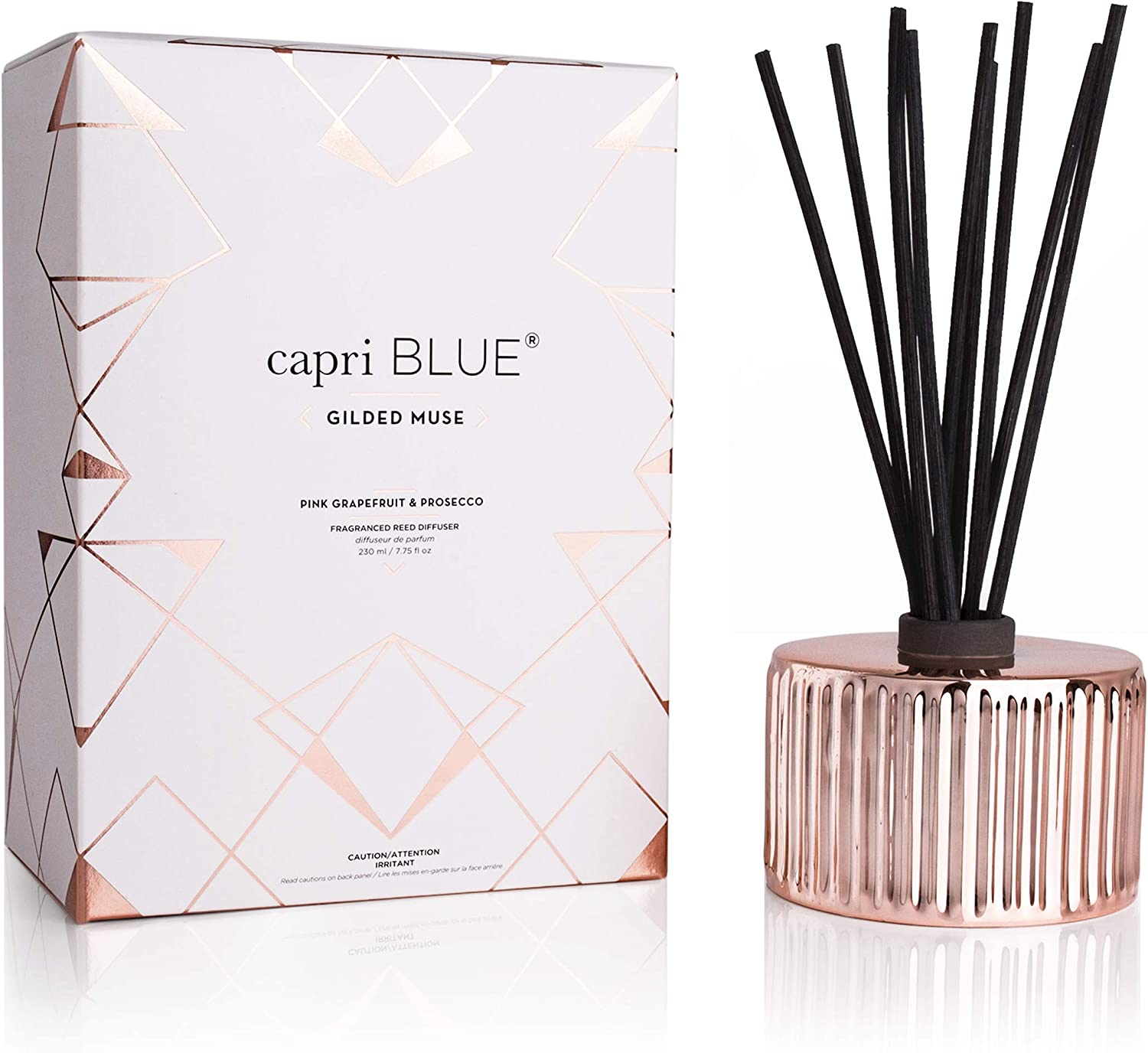 Direct sale of manufacturer Capri Blue Muse Reed Diffuser - Inexpensive 7.8 Pink Oz Grapefruit and Fl