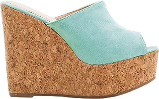 Womens Flatform Espadrilles Ankle Strap Open Toe Slingback Wedge Sandals
