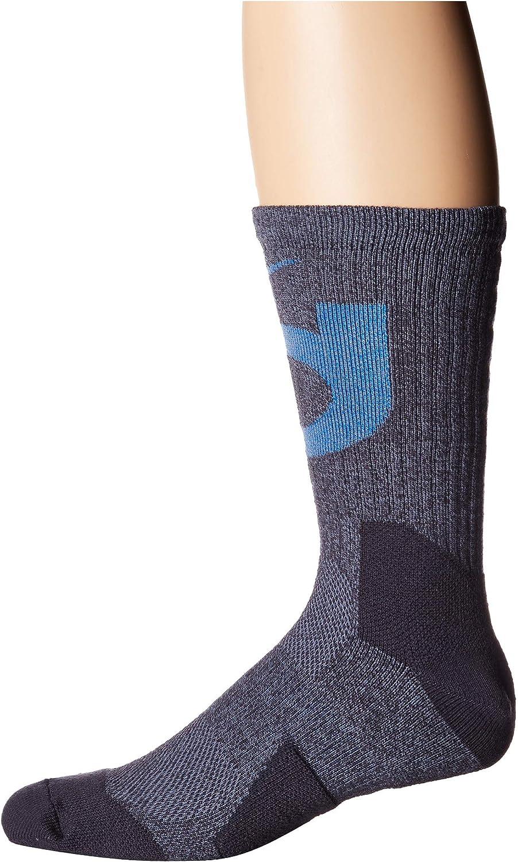 Nike KD Elite Basketball Crew Socks (X-Large, Gridiron/Signal Blue/Ashen Blue)