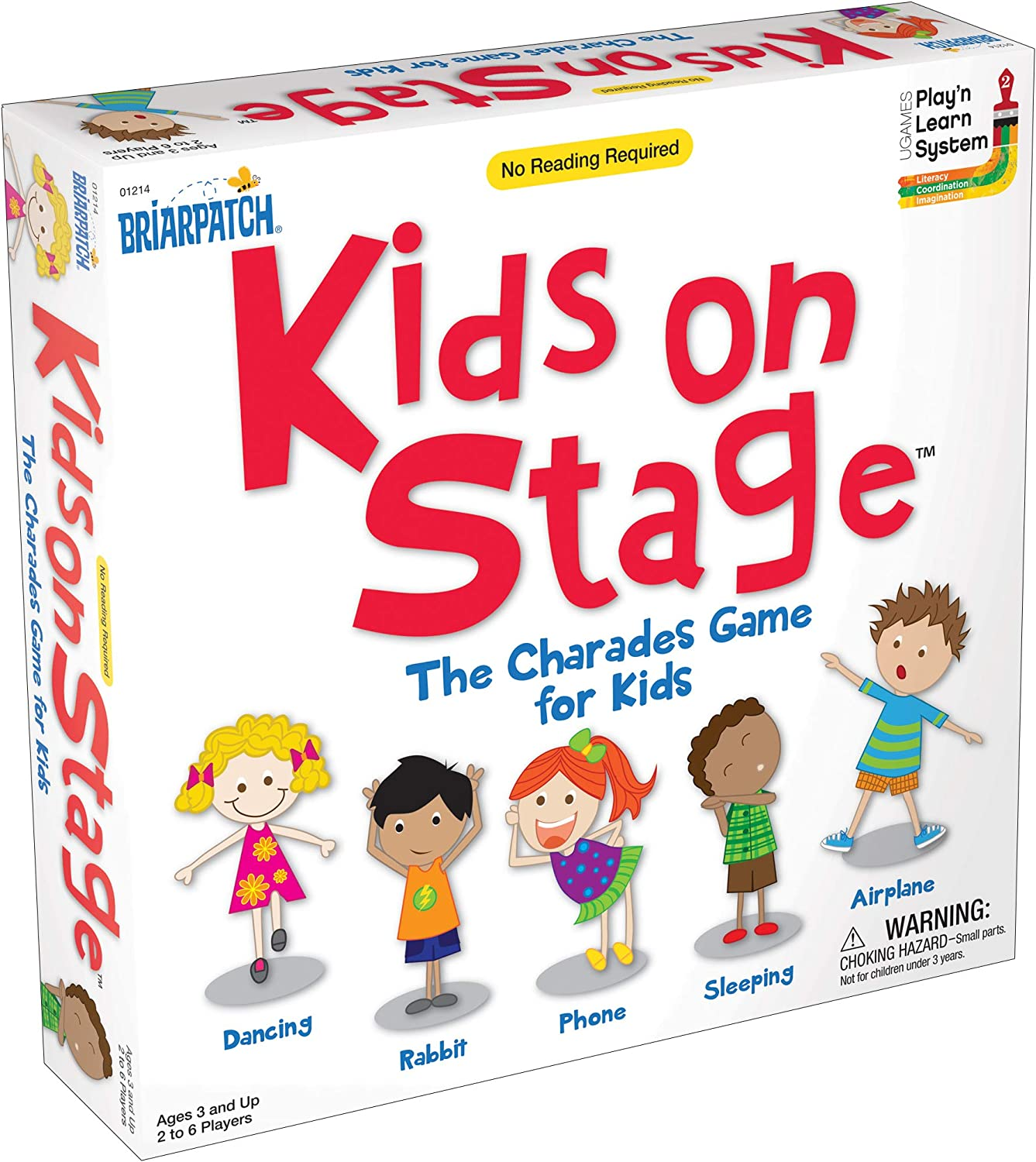 Finally resale start University Cheap mail order shopping Games UNV01214 Kids Charades Game On Stage
