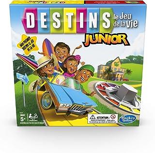 Hasbro Destins Junior – Jeu de societe - Jeu de plateau – Version française