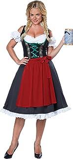 Womens Fraulein Oktoberfest Costume