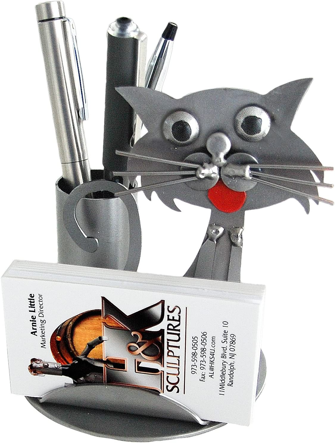 H K SCULPTURES 6702BC Card Cheap Today's only super special price Holder Business Cat