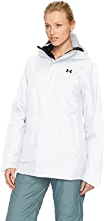 Under Armour Outerwear Women's Cold Gear Infrared Power Line Insulated Jacket, White/Black, Large