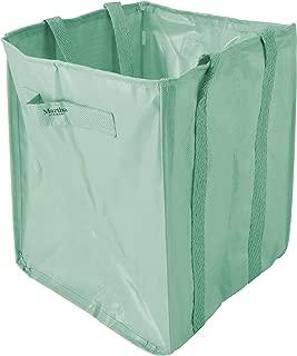 Martha Stewart MTS-MLB1-MGN 52-Gallon Multi-Purpose Reusable Heavy Duty Garden Tote Bag, Mint