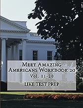 Meet Amazing Americans Workbook 20 (Meet Amazing Americans Workbook Series 2)
