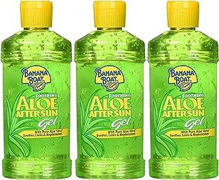 Banana Boat - Aloe Vera Gel After Sun - Crema AfterSun Refrescante y Reparadora de la Piel, Gel Hidratante, 230 ml – Pack de 3 Unidades