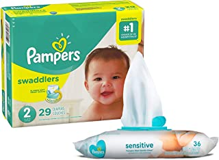 Pampers Swaddlers Disposable Diapers Sensitive