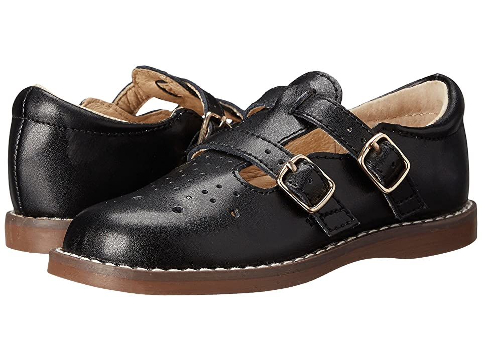 FootMates Danielle 3 (Infant/Toddler/Little Kid) (Black) Girls Shoes