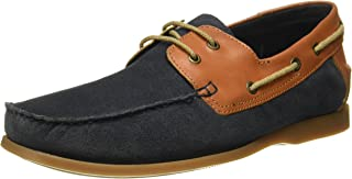 Ruosh Men's Leather Boat Shoes