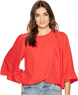 kensie - Smooth Stretch Crepe Top KS2K4392