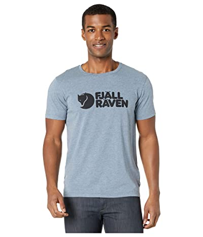Fjallraven Logo T-Shirt (Uncle Blue/Melange) Men