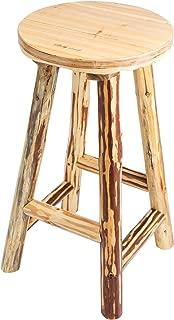 Best cheap log bar stools Reviews