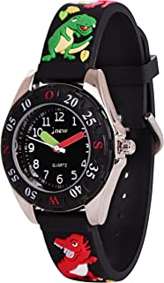 Wolfteeth Watch for Boy Kids Watches Waterproof Analog Watch with Bezel 3082
