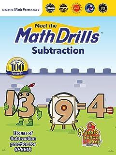 Meet the Math Drills: Subtraction