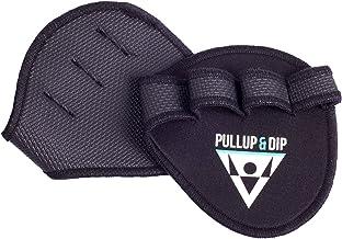PULLUP & DIP Grip Pads Training Pads van Neopreen, Het Alternatief voor Sporthandschoenen, Lifting Pads voor Gewichtheffe...