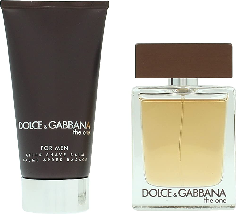Dolce&gabbana the one uomo edt 50 ml + balsamo dopobarba 75 ml di, uomo - cofanetto 0737052887975