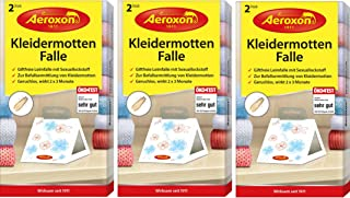 AEROXON Trampa para polillas [Paquete de 3]