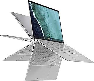 "ASUS Chromebook Flip C434 2-In-1 Laptop- 14"" Full HD 4-Way NanoEdge Touchscreen, Intel Core M3-8100Y Processor, 8GB RAM, 6..."