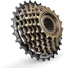 Bike Freewheel Set BiuZi 1Pc Stainless Steel Bicycle Freewheel Cassette Sprocket 7 Speed Mountain Bike Replacement Accessory