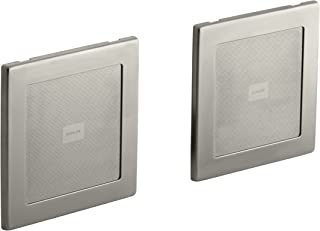 KOHLER K-8033-BN Soundtile Speakers(Pair of Speakers),  Vibrant Brushed Nickel