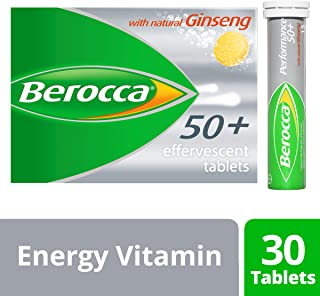 Berocca Performance 50+ Effervescent 30 Tablets