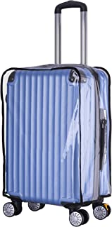 "Holly LifePro Travel Waterproof Luggage Clear PVC Cover Protector Suitcase Fits Most 20 to 30"" Luggage (26)"